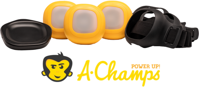 A-Champs logo and product